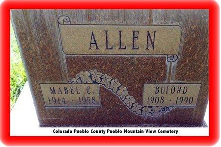ALLEN, BUFORD - Pueblo County, Colorado | BUFORD ALLEN - Colorado Gravestone Photos