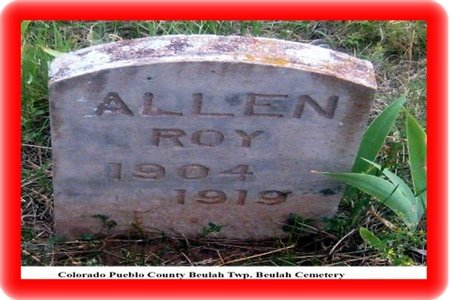 ALLEN, ROY C - Pueblo County, Colorado | ROY C ALLEN - Colorado Gravestone Photos