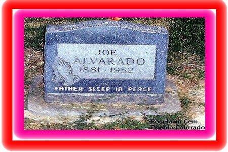 ALVARADO, JOSEPH S - Pueblo County, Colorado   JOSEPH S ALVARADO - Colorado Gravestone Photos