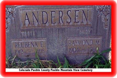 ANDERSEN, RAYMOND M - Pueblo County, Colorado | RAYMOND M ANDERSEN - Colorado Gravestone Photos