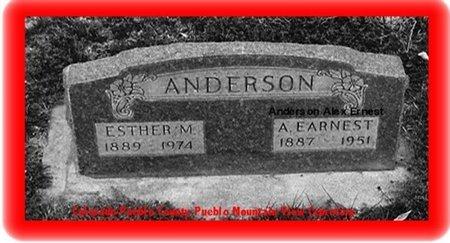 ANDERSON, ALEX ERNEST - Pueblo County, Colorado   ALEX ERNEST ANDERSON - Colorado Gravestone Photos