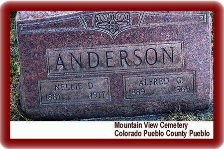 ANDERSON, ALFRED C - Pueblo County, Colorado | ALFRED C ANDERSON - Colorado Gravestone Photos