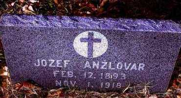 ANZLOVAR, JOZEF - Pueblo County, Colorado | JOZEF ANZLOVAR - Colorado Gravestone Photos