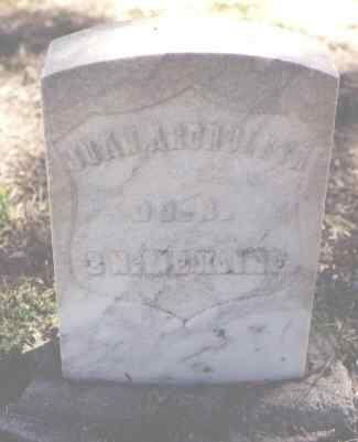 ARCHULETA, JUAN - Pueblo County, Colorado | JUAN ARCHULETA - Colorado Gravestone Photos