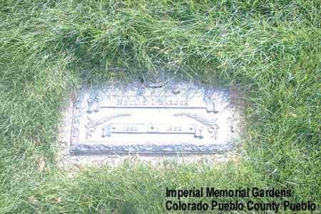 BARGER, NELLIE I. - Pueblo County, Colorado | NELLIE I. BARGER - Colorado Gravestone Photos
