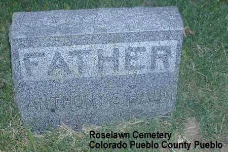 BAUM, ANTHONY - Pueblo County, Colorado   ANTHONY BAUM - Colorado Gravestone Photos