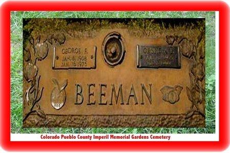 BEEMAN, GEORGE F - Pueblo County, Colorado | GEORGE F BEEMAN - Colorado Gravestone Photos