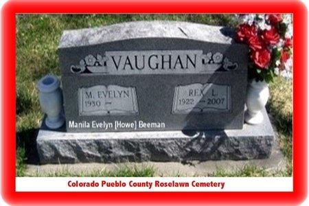 BEEMAN, MANILA EVELYN - Pueblo County, Colorado | MANILA EVELYN BEEMAN - Colorado Gravestone Photos