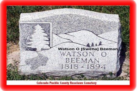 BEEMAN, WATSON O - Pueblo County, Colorado   WATSON O BEEMAN - Colorado Gravestone Photos
