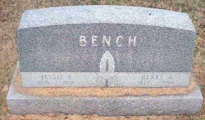 BENCH, JESSIE E. - Pueblo County, Colorado | JESSIE E. BENCH - Colorado Gravestone Photos