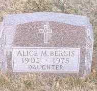 BERGIA, ALICE M. - Pueblo County, Colorado | ALICE M. BERGIA - Colorado Gravestone Photos