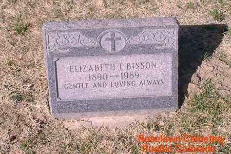 BISSON, ELIZABETH - Pueblo County, Colorado | ELIZABETH BISSON - Colorado Gravestone Photos