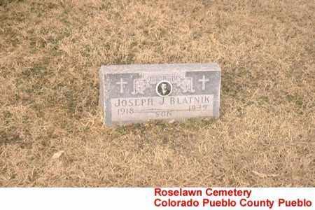 BLATNIK, JOSEPH J. - Pueblo County, Colorado | JOSEPH J. BLATNIK - Colorado Gravestone Photos