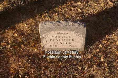 BOSTJANICI, MARGARET - Pueblo County, Colorado | MARGARET BOSTJANICI - Colorado Gravestone Photos