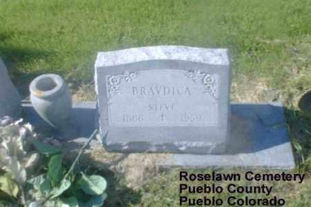 BRAVDICA, STEVE - Pueblo County, Colorado | STEVE BRAVDICA - Colorado Gravestone Photos