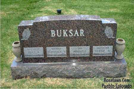 BUKSAR, HUBERT L. - Pueblo County, Colorado | HUBERT L. BUKSAR - Colorado Gravestone Photos