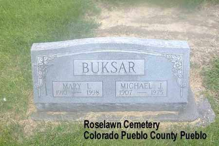 BUKSAR, MICHAEL J. - Pueblo County, Colorado | MICHAEL J. BUKSAR - Colorado Gravestone Photos
