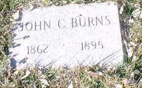 BURNS, JOHN C. - Pueblo County, Colorado   JOHN C. BURNS - Colorado Gravestone Photos