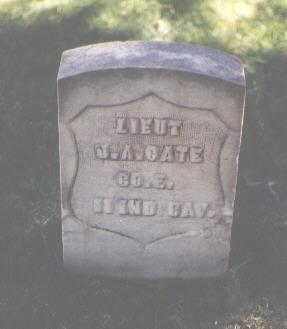 CATE, J. A. - Pueblo County, Colorado   J. A. CATE - Colorado Gravestone Photos
