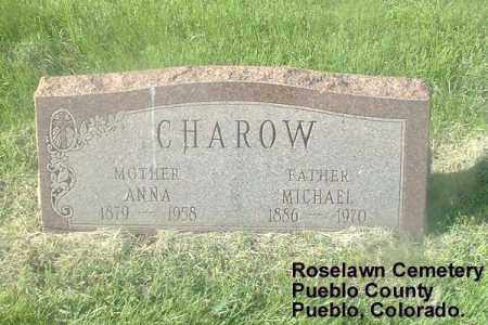 CHAROW, MICHAEL - Pueblo County, Colorado | MICHAEL CHAROW - Colorado Gravestone Photos