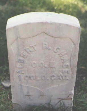 CHASE, ALBERT B. - Pueblo County, Colorado | ALBERT B. CHASE - Colorado Gravestone Photos