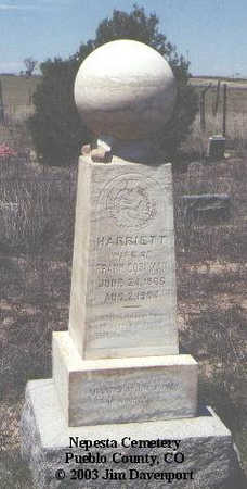 CORNMAN, HARRIETT - Pueblo County, Colorado | HARRIETT CORNMAN - Colorado Gravestone Photos