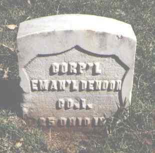 DENOON, EMAN'L - Pueblo County, Colorado | EMAN'L DENOON - Colorado Gravestone Photos
