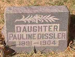 DISSLER, PAULINE - Pueblo County, Colorado | PAULINE DISSLER - Colorado Gravestone Photos