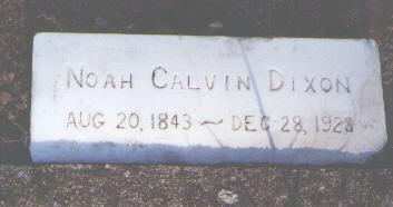 DIXON, NOAH CALVIN - Pueblo County, Colorado | NOAH CALVIN DIXON - Colorado Gravestone Photos