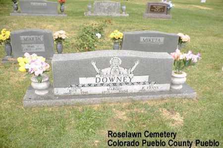 JURKA DOWNEY, ROY EARL - Pueblo County, Colorado | ROY EARL JURKA DOWNEY - Colorado Gravestone Photos