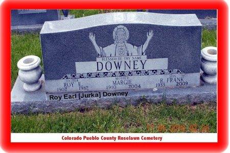 DOWNEY, ROY EARL - Pueblo County, Colorado | ROY EARL DOWNEY - Colorado Gravestone Photos