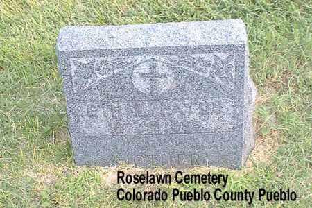 FATUS, ETHEL - Pueblo County, Colorado | ETHEL FATUS - Colorado Gravestone Photos