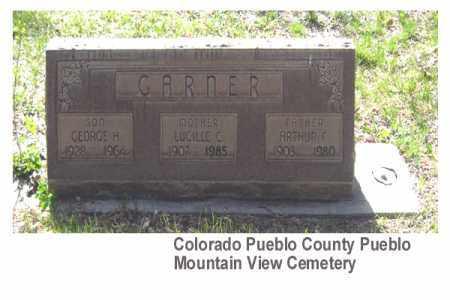 GARNER, GEORGE H - Pueblo County, Colorado | GEORGE H GARNER - Colorado Gravestone Photos