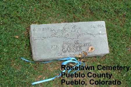 GARNER, GLORIA - Pueblo County, Colorado | GLORIA GARNER - Colorado Gravestone Photos