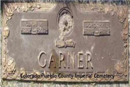 GARNER, DOROTHY L. - Pueblo County, Colorado   DOROTHY L. GARNER - Colorado Gravestone Photos