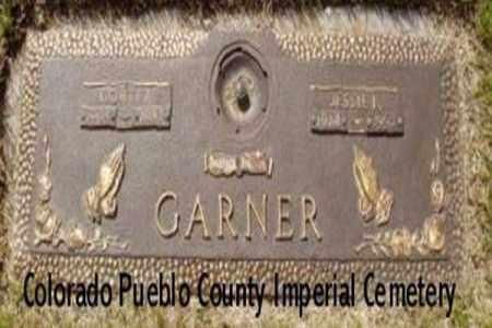 GARNER, JESSIE I - Pueblo County, Colorado | JESSIE I GARNER - Colorado Gravestone Photos