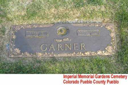 GARNER, CLYDE - Pueblo County, Colorado | CLYDE GARNER - Colorado Gravestone Photos