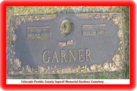 GARNER, CLYDE WILLIS - Pueblo County, Colorado | CLYDE WILLIS GARNER - Colorado Gravestone Photos