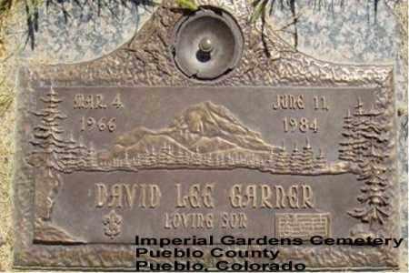 GARNER, DAVID LEE - Pueblo County, Colorado   DAVID LEE GARNER - Colorado Gravestone Photos