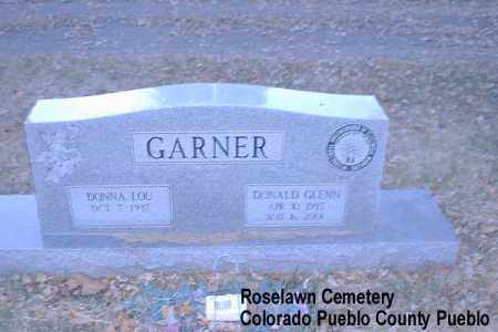 GARNER, DONNA LOU - Pueblo County, Colorado | DONNA LOU GARNER - Colorado Gravestone Photos