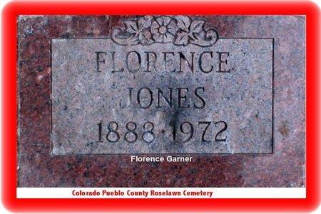 GARNER, FLORENCE - Pueblo County, Colorado | FLORENCE GARNER - Colorado Gravestone Photos