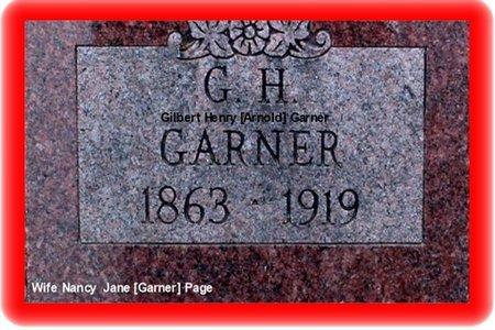 ARNOLD GARNER, GILBERT HENRY - Pueblo County, Colorado | GILBERT HENRY ARNOLD GARNER - Colorado Gravestone Photos