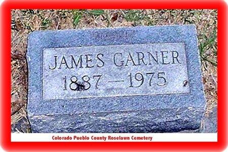GARNER, JAMES - Pueblo County, Colorado | JAMES GARNER - Colorado Gravestone Photos