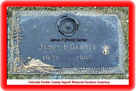GARNER, JAMES F - Pueblo County, Colorado | JAMES F GARNER - Colorado Gravestone Photos