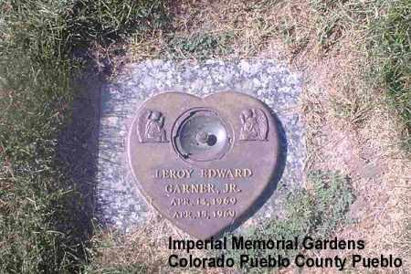 GARNER, LEROY EDWARD, JR. - Pueblo County, Colorado | LEROY EDWARD, JR. GARNER - Colorado Gravestone Photos