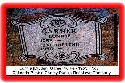 GARNER, LONNIE - Pueblo County, Colorado   LONNIE GARNER - Colorado Gravestone Photos