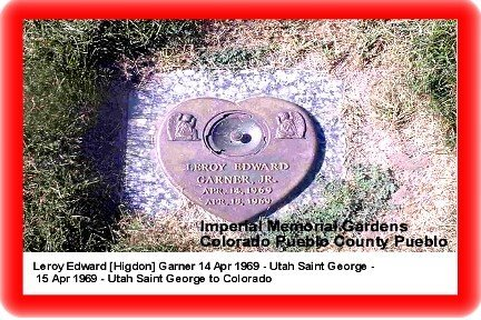 GARNER, LEROY EDWARD - Pueblo County, Colorado | LEROY EDWARD GARNER - Colorado Gravestone Photos
