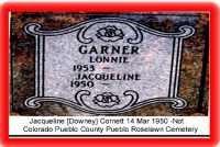 GARNER, LONNIE JUNIOUR - Pueblo County, Colorado | LONNIE JUNIOUR GARNER - Colorado Gravestone Photos