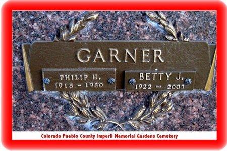 GARNER, PHILLIP H - Pueblo County, Colorado | PHILLIP H GARNER - Colorado Gravestone Photos