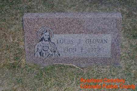 GLOVAN, LOUIS J. - Pueblo County, Colorado | LOUIS J. GLOVAN - Colorado Gravestone Photos